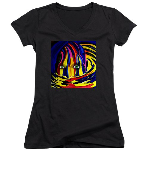 Mystic Waters Women's V-Neck (Athletic Fit)