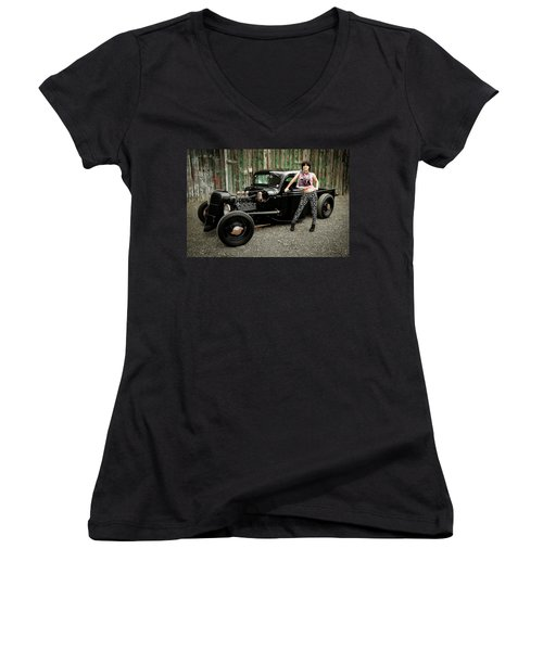 Nancy V Women's V-Neck T-Shirt