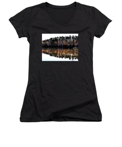 Nature's Design  Women's V-Neck T-Shirt