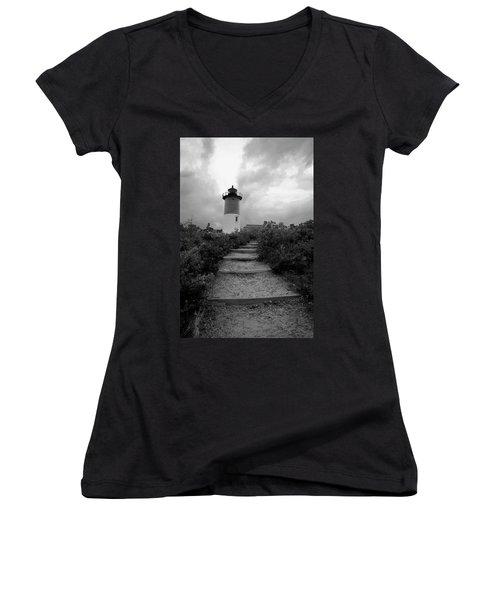 Nauset Light Women's V-Neck T-Shirt