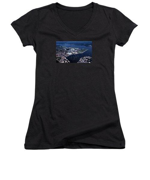 Naval Academy Women's V-Neck T-Shirt