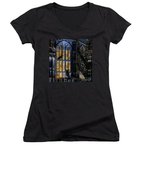 Nevermore Women's V-Neck T-Shirt
