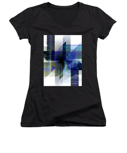 Transparency Women's V-Neck T-Shirt
