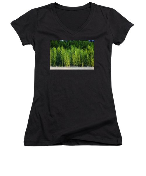 New Growth Women's V-Neck