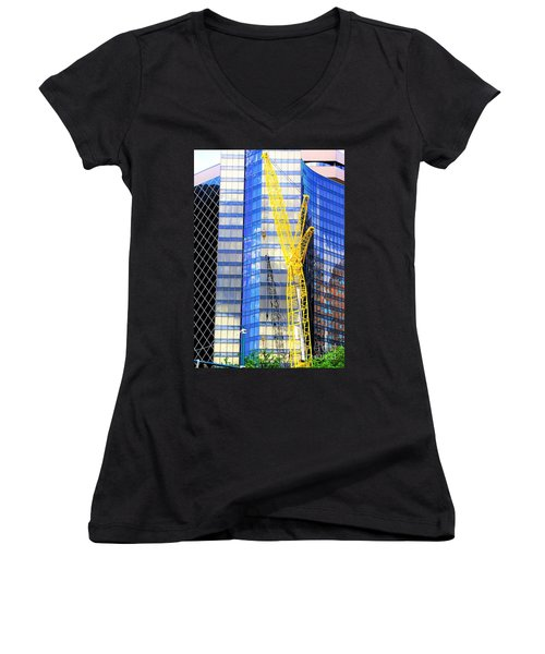 New Orleans Louisiana 4 Women's V-Neck (Athletic Fit)