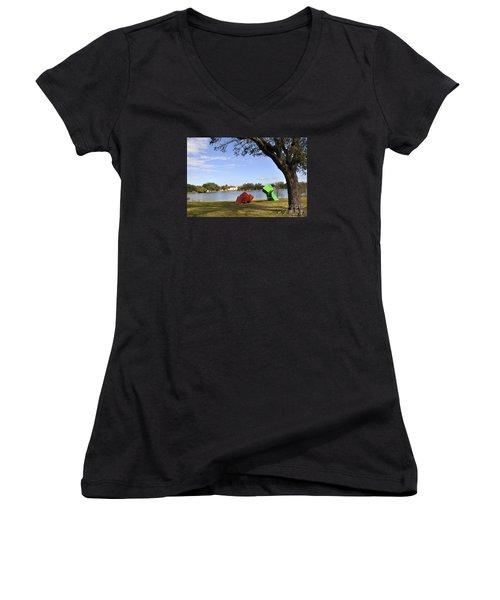 New Orleans Museum Of Art Women's V-Neck T-Shirt
