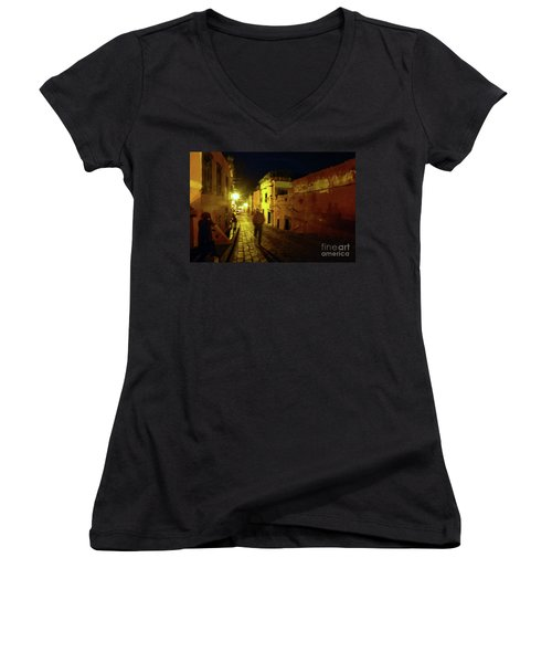Night Dream Women's V-Neck