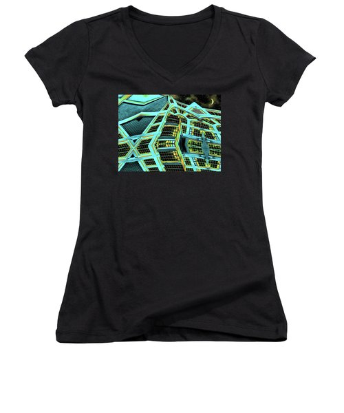 Night In This House Women's V-Neck (Athletic Fit)