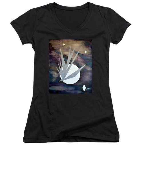 Nighthawke 2 Women's V-Neck T-Shirt