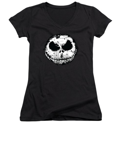 Nightmare Women's V-Neck (Athletic Fit)