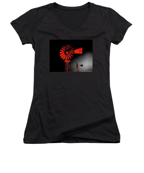Nightwatch Women's V-Neck T-Shirt