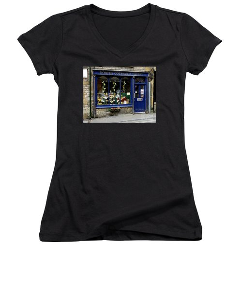 North Cotswold Bakery Women's V-Neck T-Shirt