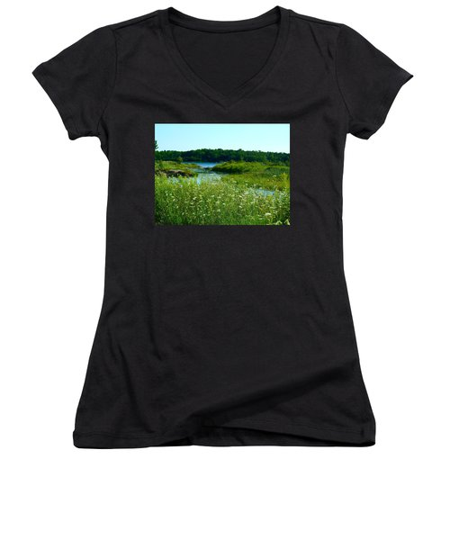 Northern Ontario 1 Women's V-Neck T-Shirt