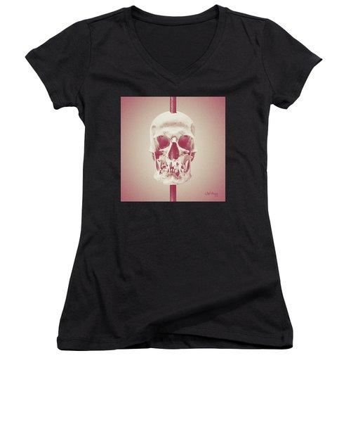 Nostalgia Women's V-Neck T-Shirt (Junior Cut) by Joseph Westrupp