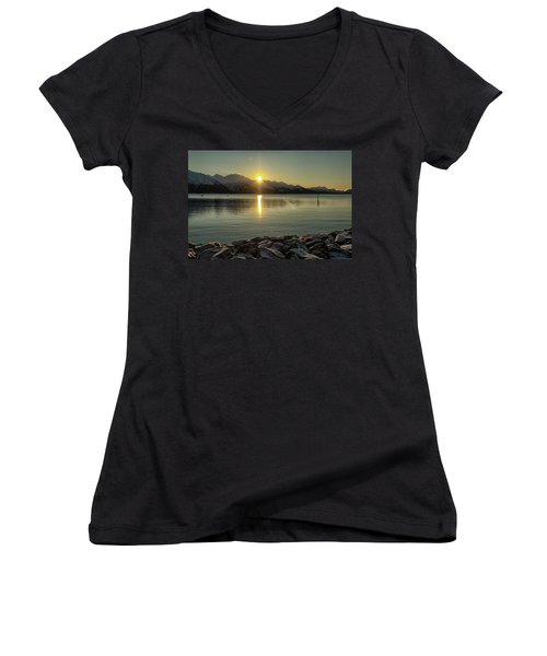 Now That Is A Pretty Picture Women's V-Neck
