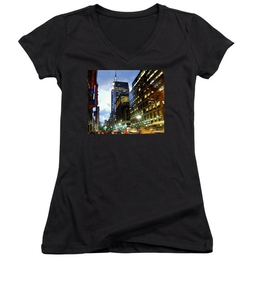 Nyc Fifth Ave Women's V-Neck T-Shirt