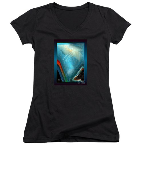 Octopus Women's V-Neck T-Shirt