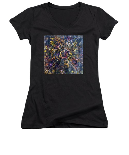 44-offspring While I Was On The Path To Perfection 44 Women's V-Neck