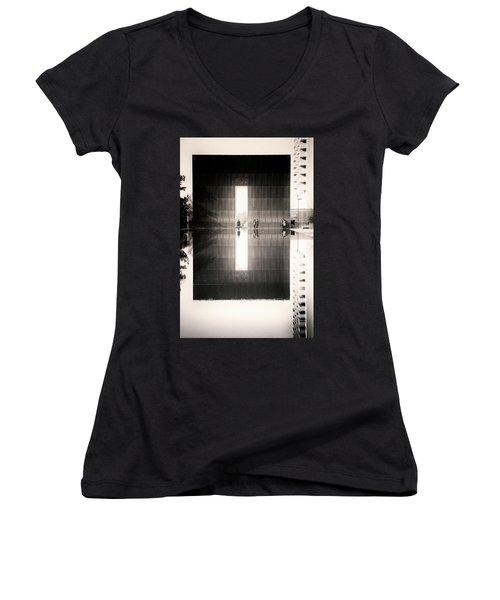 Oklahoma City Memorial Women's V-Neck T-Shirt