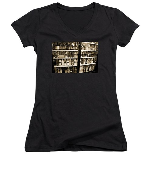 Old Drug Store Goods Women's V-Neck T-Shirt
