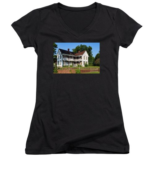 Old Shull Mansion Women's V-Neck