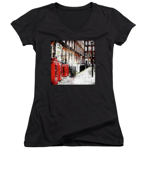 Old Square Women's V-Neck (Athletic Fit)