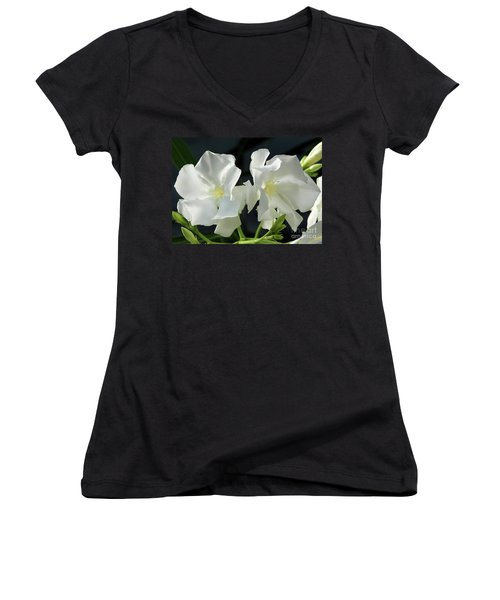 Oleander Mont Blanc 1 Women's V-Neck