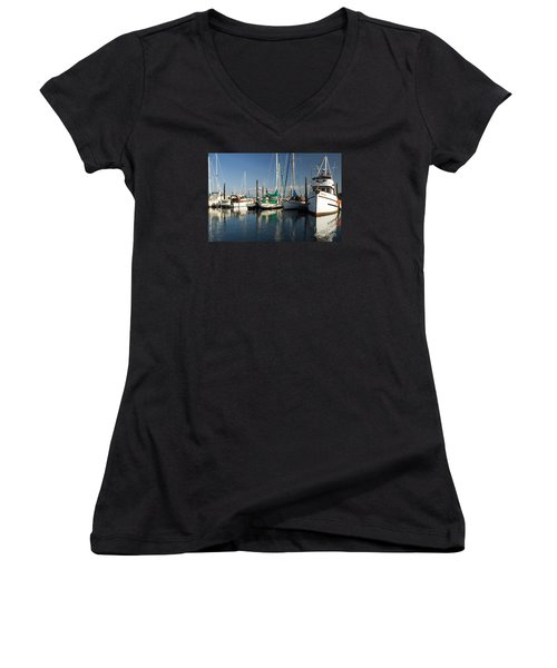 Olympia Marina Women's V-Neck T-Shirt