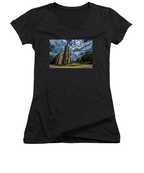On Guard For Thee Women's V-Neck T-Shirt