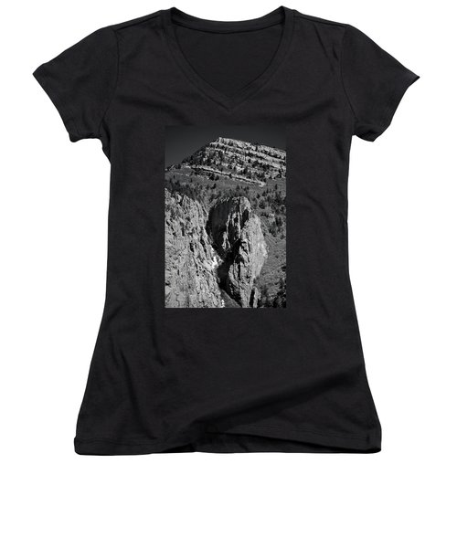 On Sandia Mountain Women's V-Neck