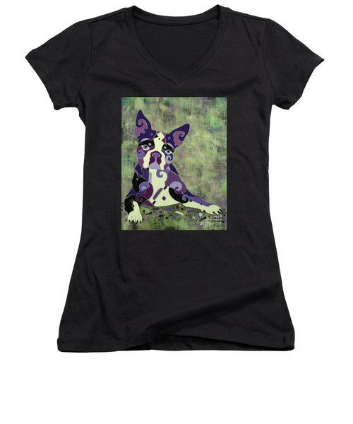 On Stand By Women's V-Neck T-Shirt