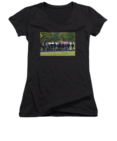 On Their Way To Rest Women's V-Neck