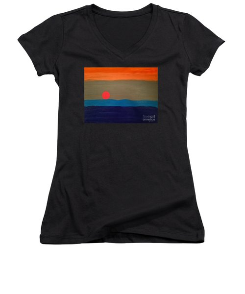 One Moment Women's V-Neck T-Shirt