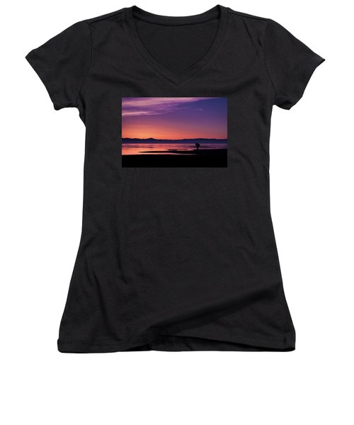 One More Shot Women's V-Neck T-Shirt