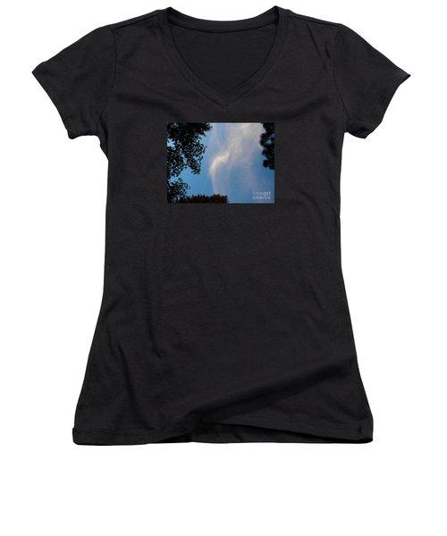 Opening Windows From Heaven Women's V-Neck T-Shirt