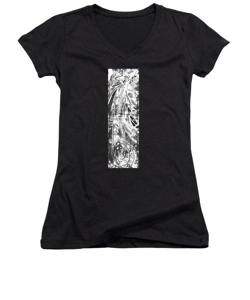 Opportunity Women's V-Neck T-Shirt (Junior Cut) by Carol Rashawnna Williams
