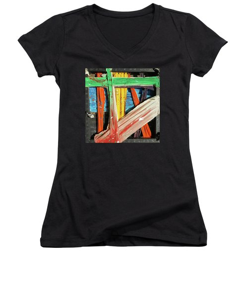 Opposites Attract Women's V-Neck