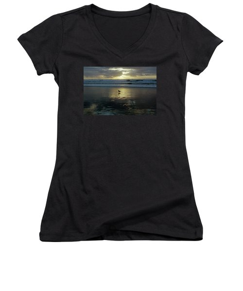 Oregon Coast 3 Women's V-Neck T-Shirt