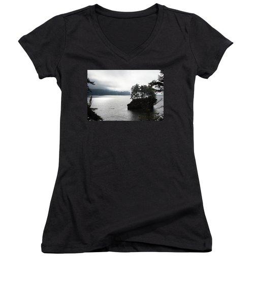 Oregon Coast Fog Women's V-Neck