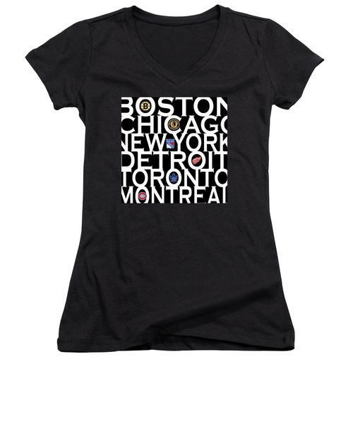 Original Six Women's V-Neck (Athletic Fit)