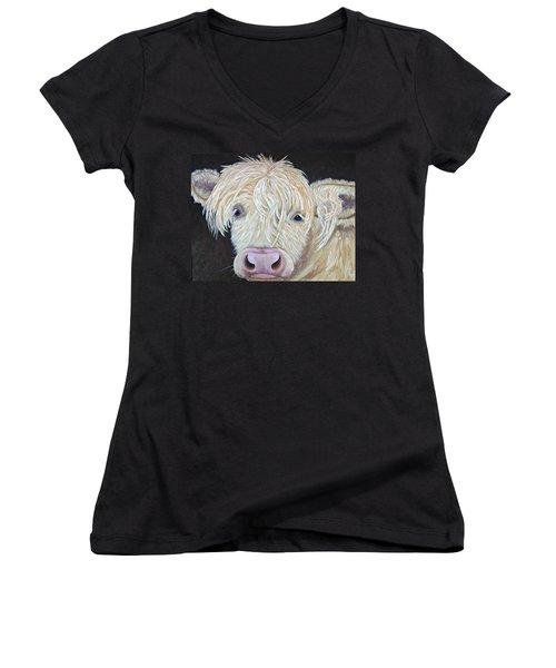 Oscar Women's V-Neck T-Shirt