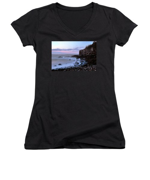 Otter Cliff Awash Women's V-Neck