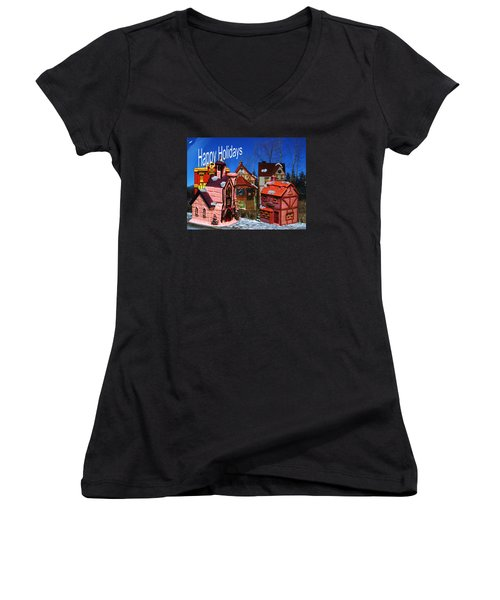 Our Community Women's V-Neck