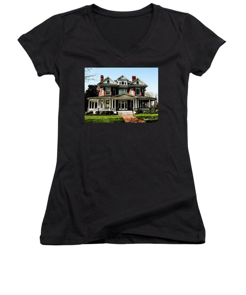 Our House 2 Women's V-Neck (Athletic Fit)