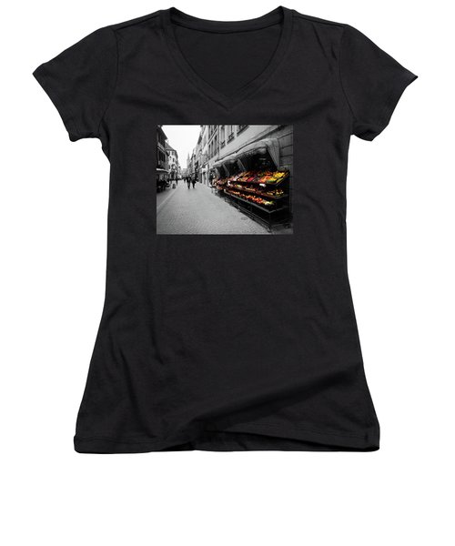 Outdoor Market Women's V-Neck T-Shirt