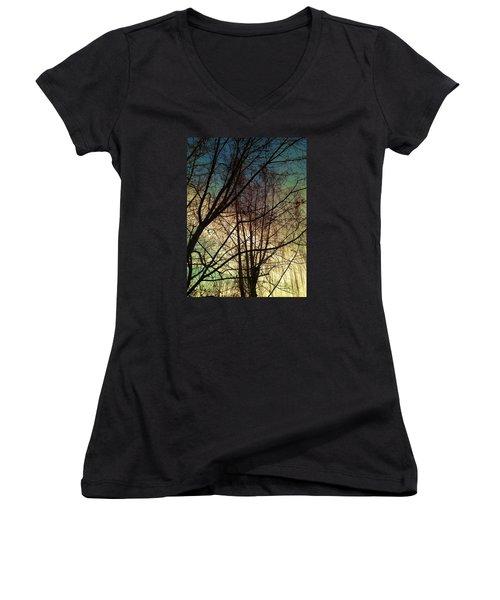Paintbrush 5 Women's V-Neck T-Shirt