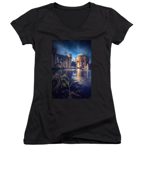 Palace Of Fine Arts Women's V-Neck (Athletic Fit)