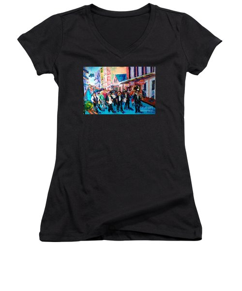 Parade For Joe Women's V-Neck (Athletic Fit)