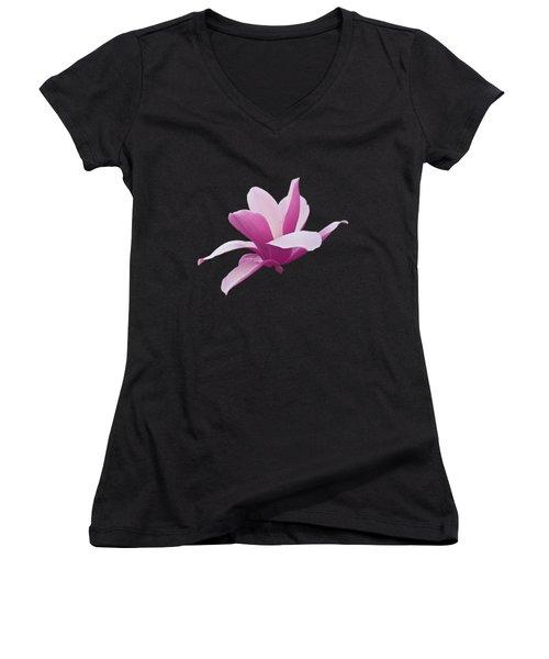 Paradox In Bloom Women's V-Neck T-Shirt