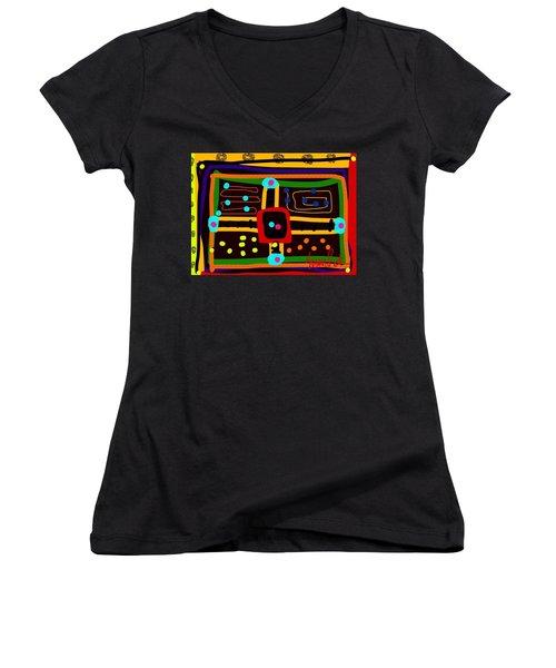 Parchoosie Women's V-Neck T-Shirt